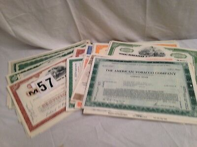 Stock Certificates lot -79, SEE ENTIRE LIST GREAT GRAPHIC~Borders price reduced!