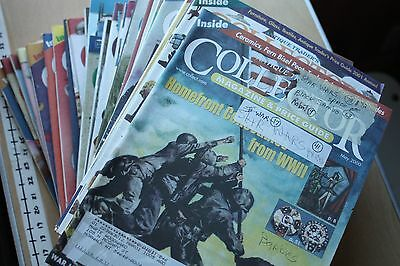 36pc 1999-2004 Antique Traders Collector Magazine & Price Guides