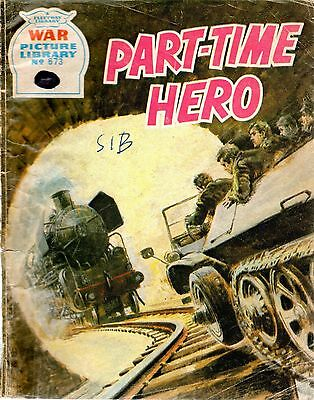 PART-TIME HERO No 673 1971 41737 War Picture Library