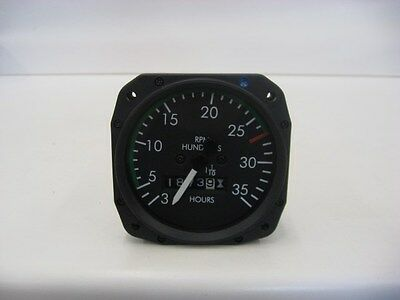 Superior Labs Mechanical Tachometer from a Piper Cherokee Six