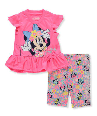 Disney Minnie Mouse Girls' 2-Piece Outfit