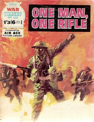 1971 No 639 37308 War Picture Library  ONE MAN ONE RIFLE