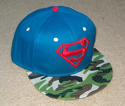 3bb4092cfdd ... low price superman dc comics snapback hat cap camo mashup new rare free  shipping to us