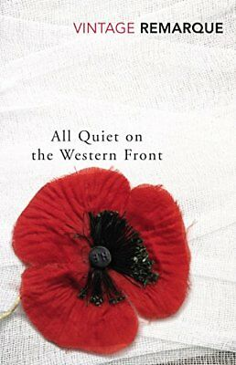 All Quiet on the Western Front by Erich Maria Remarque New Paperback Book