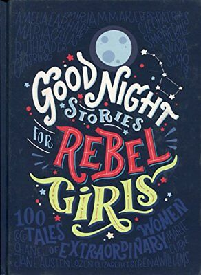 Good Night Stories for Rebel Girls by Elena Favilli New Hardcover Book