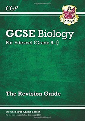 New Grade 9-1 GCSE Biology: Edexcel Revision Guide with Onlin by CGP Books New