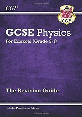 New Grade 9-1 GCSE Physics: Edexcel Revision Guide with Onlin by CGP Books New
