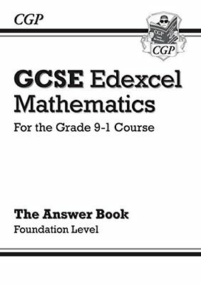 GCSE Maths Edexcel Answers for Workbook: Foundation - for the by CGP Books New