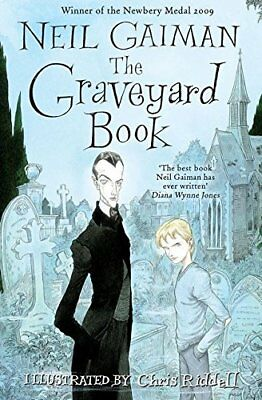 The Graveyard Book by Neil Gaiman New Paperback Book