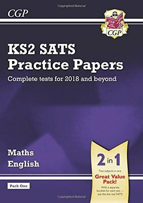 New KS2 Maths and English SATS Practice Papers Pack (for the  by CGP Books New
