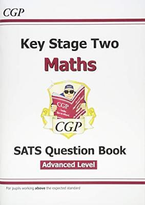 KS2 Maths Targeted SATS Question Book - Advanced Level by CGP New Paperback Book