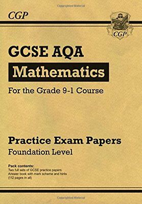 New GCSE Maths AQA Practice Papers: Foundation - for t by CGP New Paperback Book