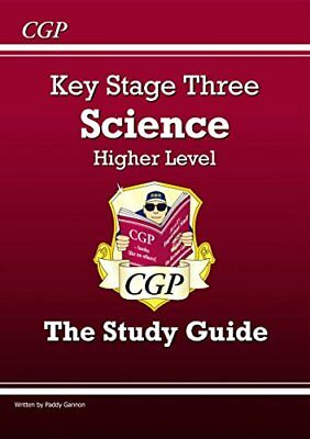 KS3 Science Study Guide - Higher (CGP KS3 Sci by Paddy Gannon New Paperback Book