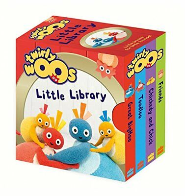 Twirlywoos Little Library (Twirlywoos) by  New Board book Book