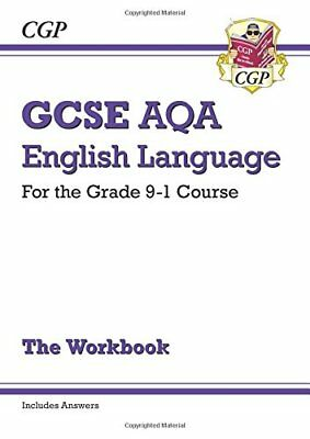 GCSE English Language AQA Workbook - for the Grade 9-1 by CGP New Paperback Book