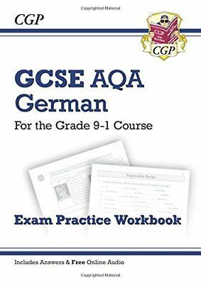 New GCSE German AQA Exam Practice Workbook - for the G by CGP New Paperback Book