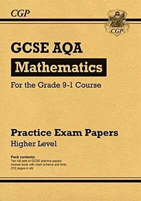New GCSE Maths AQA Practice Papers: Higher - for the G by CGP New Paperback Book