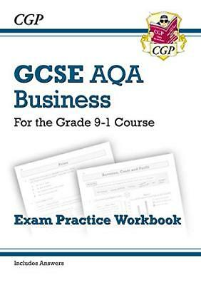 New GCSE Business AQA Exam Practice Workbook - for the by CGP New Paperback Book