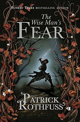 The Wise Man's Fear (The Kingkiller Chron by Patrick Rothfuss New Paperback Book
