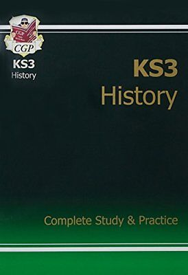 KS3 History Complete Study & Practice (CGP KS3 Humanit by CGP New Paperback Book