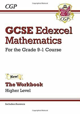 GCSE Maths Edexcel Workbook: Higher - for the Grade 9- by CGP New Paperback Book