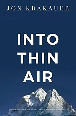 Into Thin Air by Jon Krakauer New Paperback Book