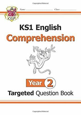 New KS1 English Targeted Question Book: Comprehension - Year  by CGP Books New