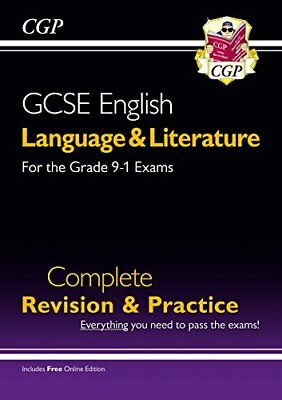 Grade 9-1 GCSE English Language and Literature Complet by CGP New Paperback Book