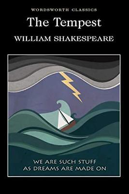The Tempest (Wordsworth Classics) by William Shakespeare New Paperback Book