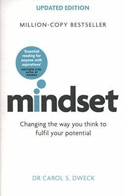 Mindset - Updated Edition: Changing The Way by Dr Carol Dweck New Paperback Book