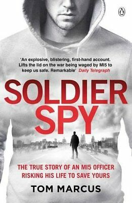 Soldier Spy by Tom Marcus New Paperback Book