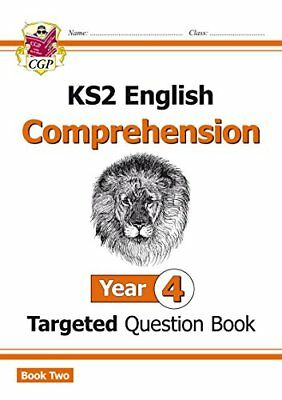 New KS2 English Targeted Question Book: Year 4 Compreh by CGP New Paperback Book