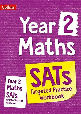 Year 2 Maths Targeted Practice Workbook: 2019  by Collins KS1 New Paperback Book