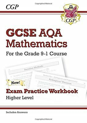 GCSE Maths AQA Exam Practice Workbook: Higher - for th by CGP New Paperback Book