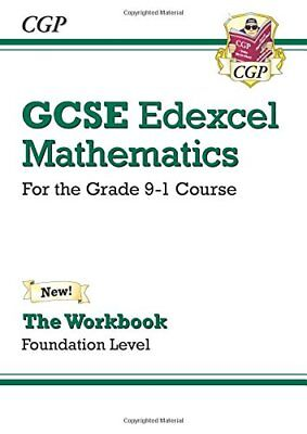 New GCSE Maths Edexcel Workbook: Foundation - for the Grade 9 by Cgp Books New
