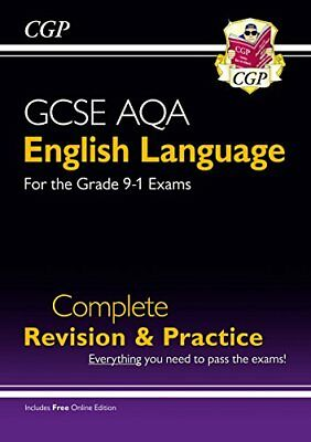 GCSE English Language AQA Complete Revision & Practice - Grad by CGP Books New