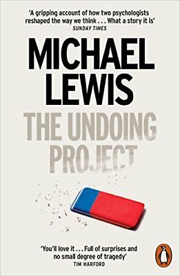 The Undoing Project: A Friendship that Chang by Michael Lewis New Paperback Book