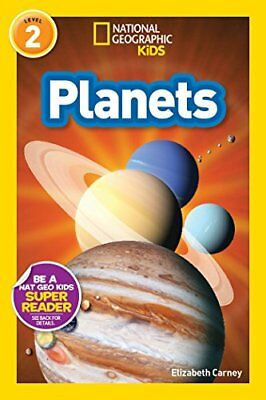 National Geographic Kids Readers: Planets by Elizabeth Carney New Paperback Book