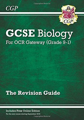 New Grade 9-1 GCSE Biology: OCR Gateway Revision Guide by CGP New Paperback Book