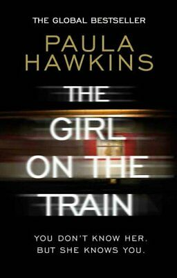 The Girl on the Train by Paula Hawkins New Paperback Book