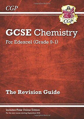 New Grade 9-1 GCSE Chemistry: Edexcel Revision Guide with Onl by CGP Books New