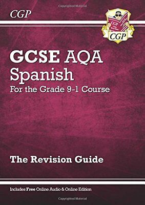 New GCSE Spanish AQA Revision Guide - for the Grade 9- by CGP New Paperback Book