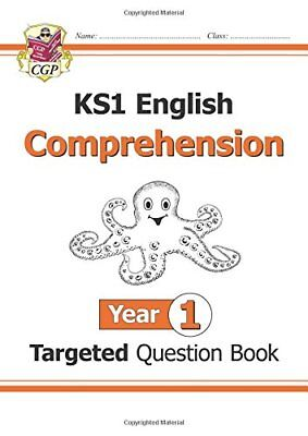New KS1 English Targeted Question Book: Comprehension  by CGP New Paperback Book