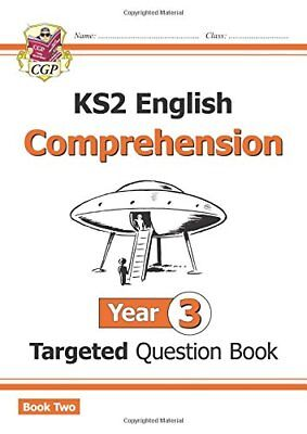 New KS2 English Targeted Question Book: Year 3 Compreh by CGP New Paperback Book