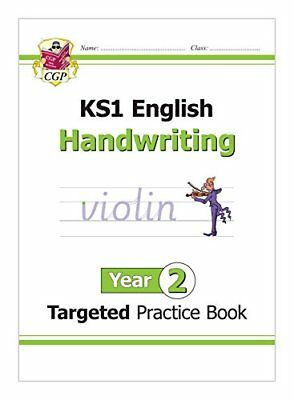 KS1 English Targeted Practice Book: Handwriting - Year 2 (CGP by CGP Books New