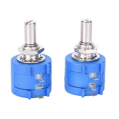 2PCS 3590S 10K 3590S-2-103L 10k Ohm 10 Turn Variable Resistor Potentiometer ZY