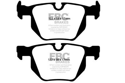 E61 2008-10 MINTEX FRONT AND REAR BRAKE PADS FOR BMW 530 XDRIVE 3.0 TD