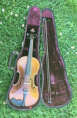 1922 Prima Violin Arlington Schaeffer Made In Nippon Japan By Suzuki Clean