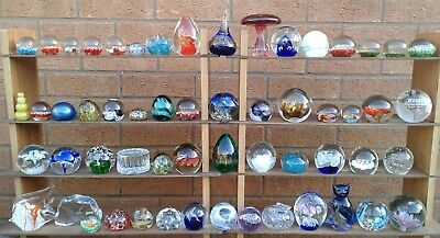Selection Of Assorted Glass Paperweights (Ref 134)