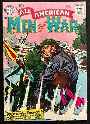 All-American Men Of War #57 1958 Sharp Fn+ Nice Pre Sgt.rock Easy Comp. Story